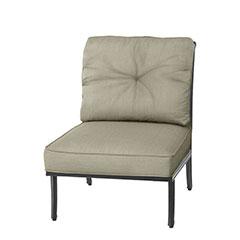 Dynasty Cushion Armless Lounge Chair