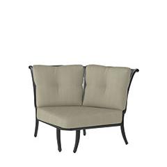 Dynasty Cushion Two-Back Corner Chair
