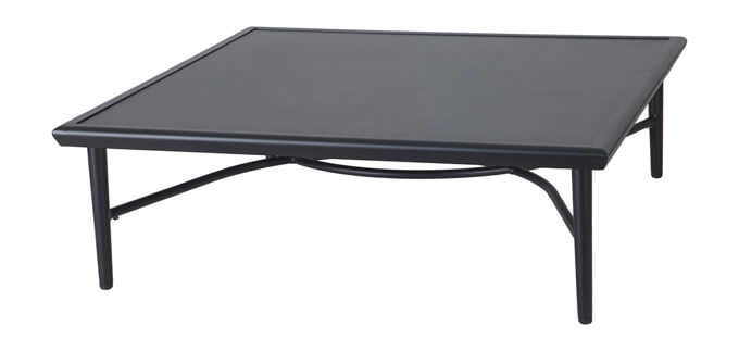 "Talia 40"" Square Coffee Table - 12"" Height"
