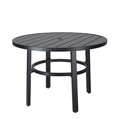 """Plank 44"""" Round Dining Table"""
