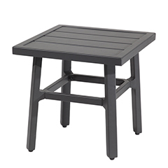 """Plank 21"""" Square End Table - 21"""" Height"""