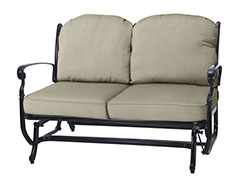 Bella Vista Cushion Loveseat Glider