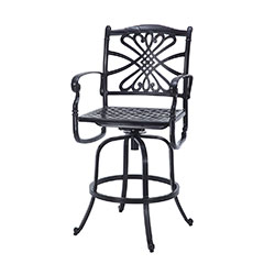 Bella Vista Cushion Swivel Bar Stool