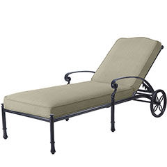 Bella Vista Cushion Chaise Lounge
