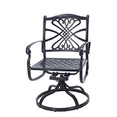Bella Vista Cushion Swivel Rocker