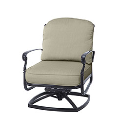 Bella Vista Cushion Swivel Rocking Lounge Chair
