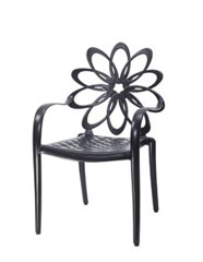 Lotus Cushion Café Chair