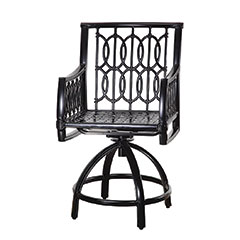 Manhattan Cushion Swivel Balcony Stool