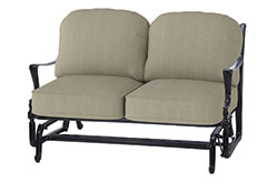 Bel Air Cushion Loveseat Glider