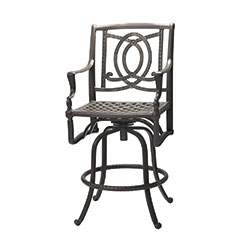Bel Air Cushion Swivel Bar Stool