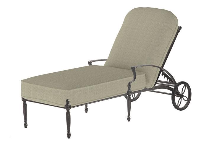 Bel Air Cushion Chaise Lounge