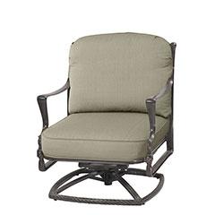 Bel Air Cushion Swivel Rocking Lounge Chair