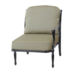 Bel Air Cushion Left Arm Lounge Chair