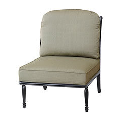 Bel Air Cushion Armless Lounge Chair