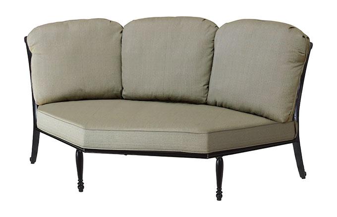 Bel Air Cushion Three-Back Corner Chair