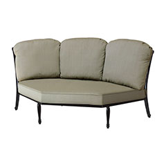 Bel Air Cushion Three-Back Corner Chair