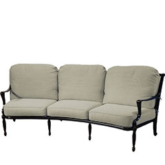 Bel Air Cushion Curved Sofa