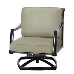 Manhattan II Cushion Swivel Rocking Lounge Chair