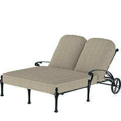 Florence Cushion Double Chaise Lounge
