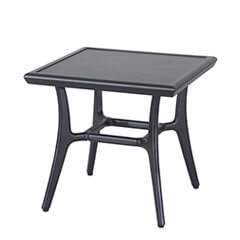 "Fusion 22"" Square End Table - 21"" Height"