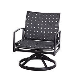 Phoenix Strap Swivel Rocking Lounge Chair