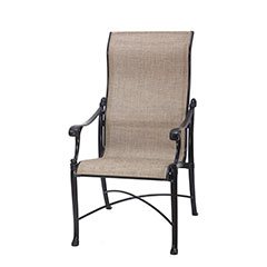 Michigan Sling High Back Dining Chair
