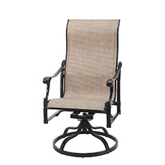 Michigan Sling High Back Swivel Rocker