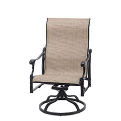 Michigan Sling High Back Swivel Rocking Lounge Chair