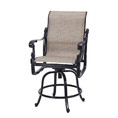 Florence Sling Swivel Balcony Stool