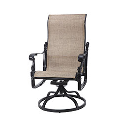 Florence Sling High Back Swivel Rocker