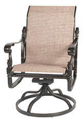 Florence Sling Standard Back Swivel Rocker