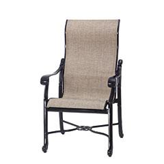 San Marino Sling High Back Dining Chair