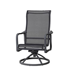 Cabrisa Sling High Back Swivel Rocking Lounge Chair