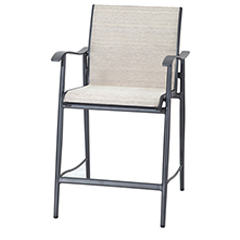 Lida Sling Stationary Balcony Stool