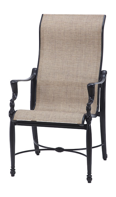 Bel Air Sling High Back Dining Chair