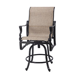 Bel Air Sling Swivel Balcony Stool