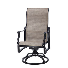 Bel Air Sling High Back Swivel Rocker