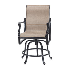 Bel Air Sling Swivel Rocking Balcony Stool