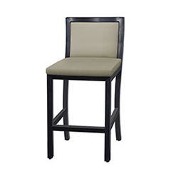 Drake Upholstered Stationary Balcony Stool w/o Arms