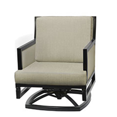Drake Upholstered Swivel Rocking Lounge Chair