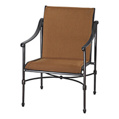Morro Bay Padded Sling Dining Chair