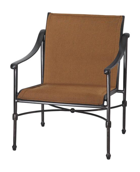 Morro Bay Padded Sling Lounge Chair