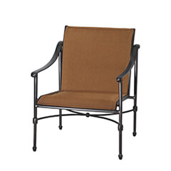Morro Bay Padded Sling Lounge Chair