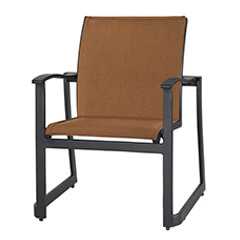 Paragon Padded Sling Dining Chair - Stacking