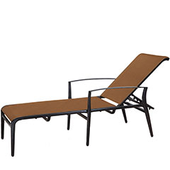 Phoenix Padded Sling Chaise Lounge