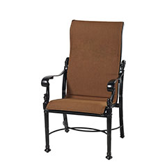 Florence Padded Sling High Back Dining Chair