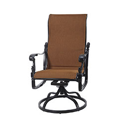 Florence Padded Sling High Back Swivel Rocker