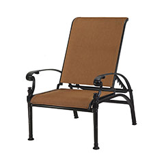 Florence Padded Sling Reclining Chair