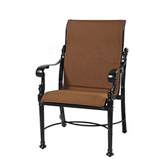 Florence Padded Sling Standard Back Dining Chair