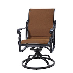 Florence Padded Sling Standard Back Swivel Rocker
